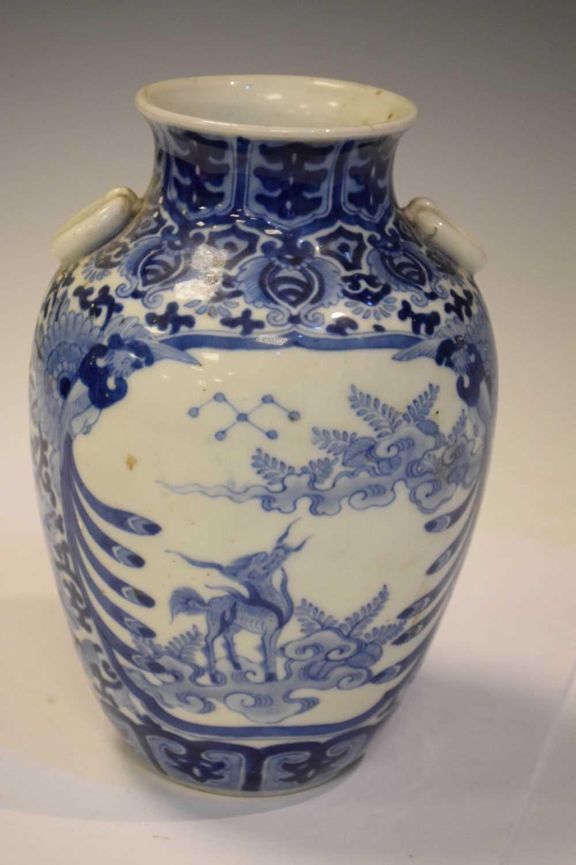 Chinese Blue and white vase - Image 2 of 7