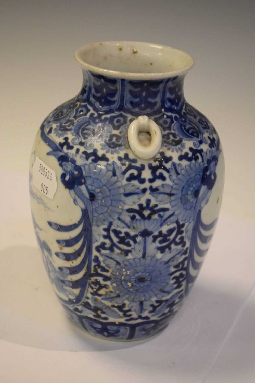 Chinese Blue and white vase - Image 5 of 7