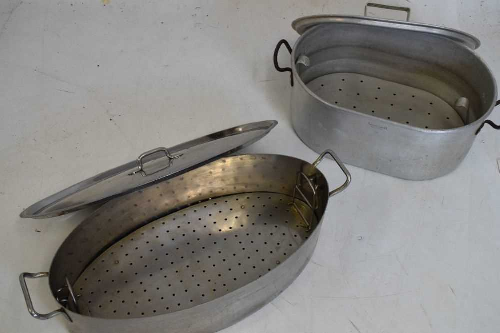 Firth's Staybrite fish kettle and another - Image 4 of 4