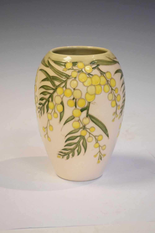Moorcroft 'Wattle' vase - Image 2 of 6