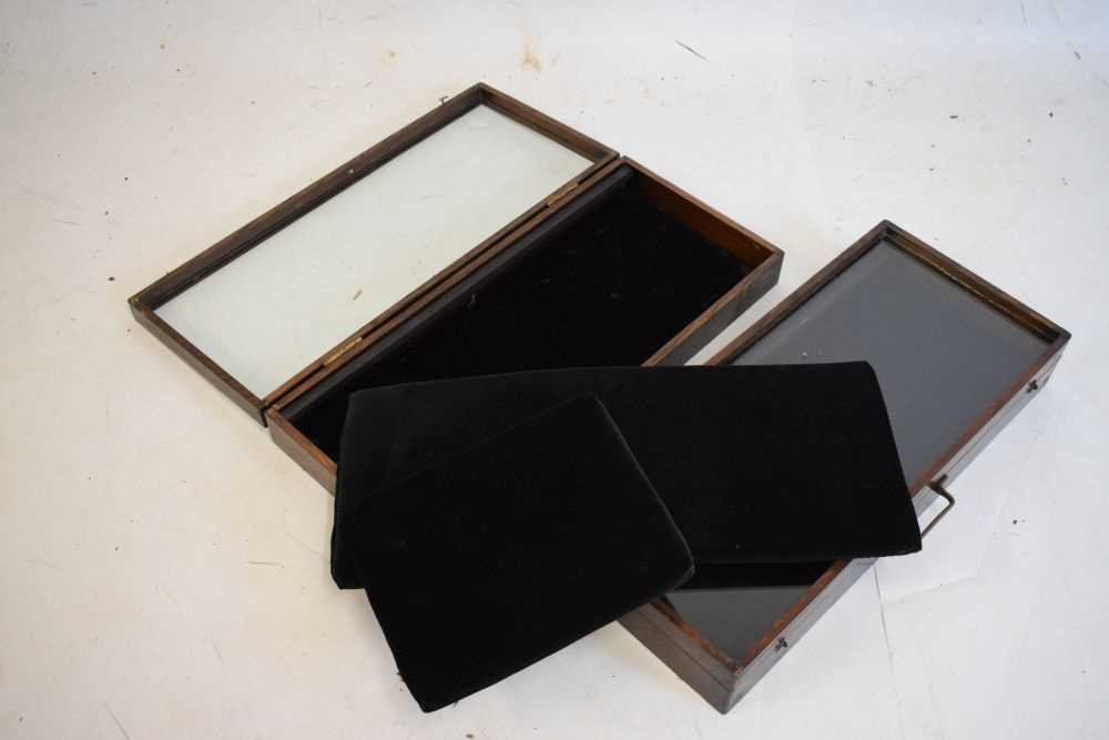Pair of jewellery display cases - Image 2 of 2