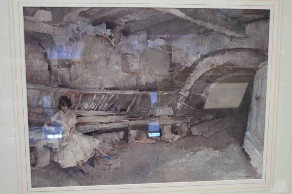 Five framed Russell Flint prints, unsigned - Image 5 of 7