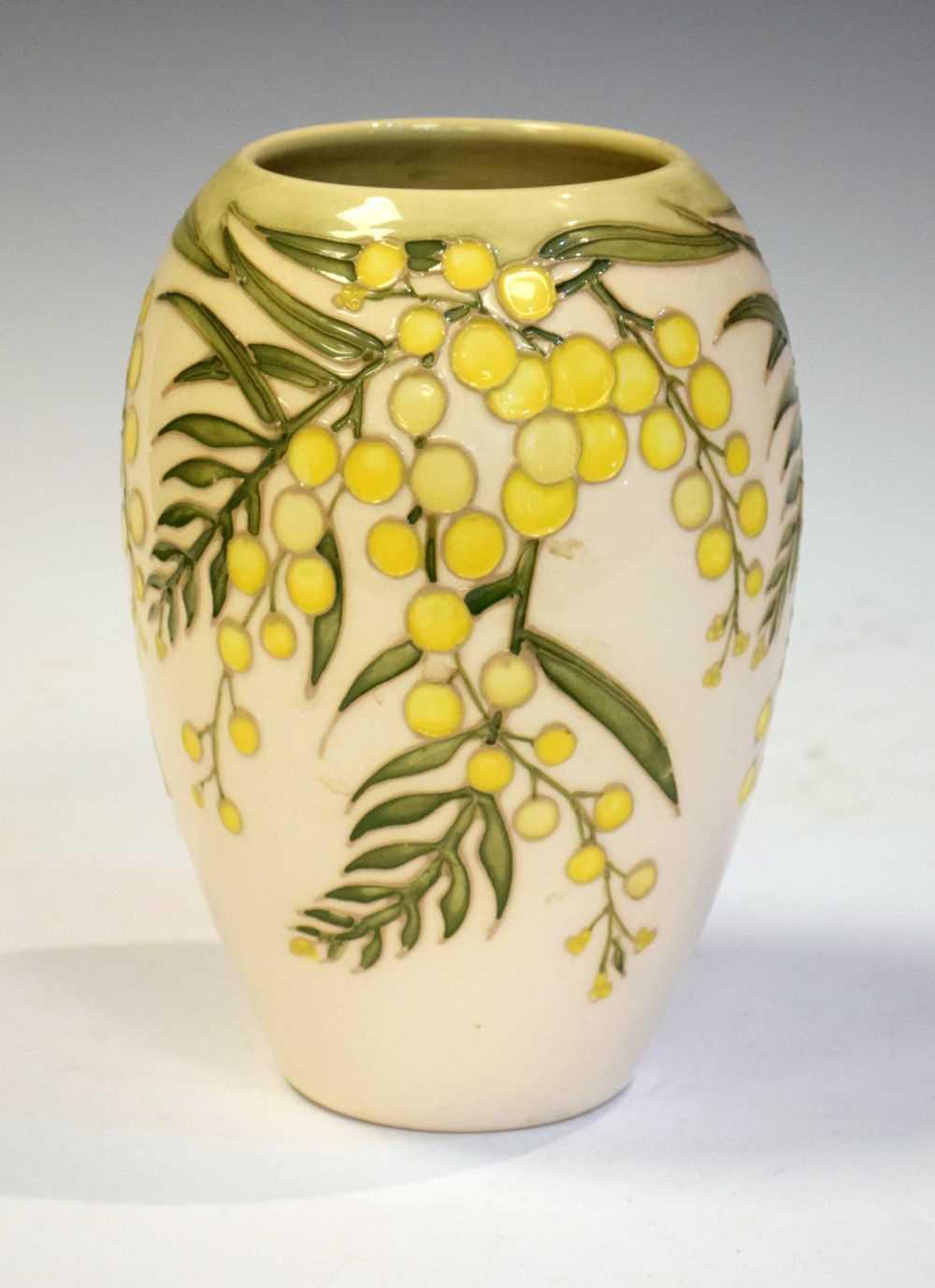 Moorcroft 'Wattle' vase