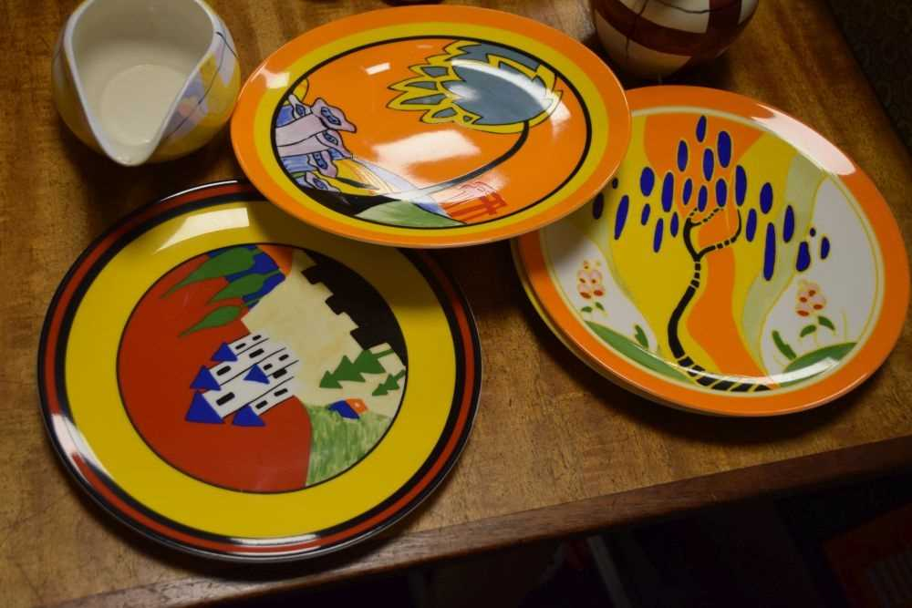 Quantity of J & G Meakin Habitant Studio Ware, Wedgwood Clarice Cliff plates and - Image 4 of 4