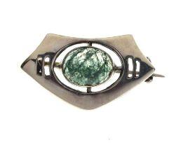 Charles Horner silver brooch