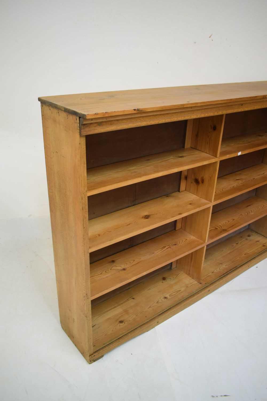 Pine shelving unit - Image 2 of 5