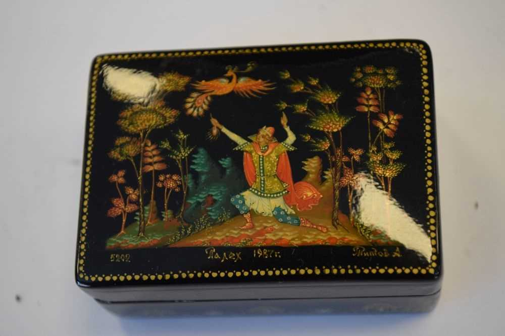 Collection of Russian boxes - Image 2 of 6
