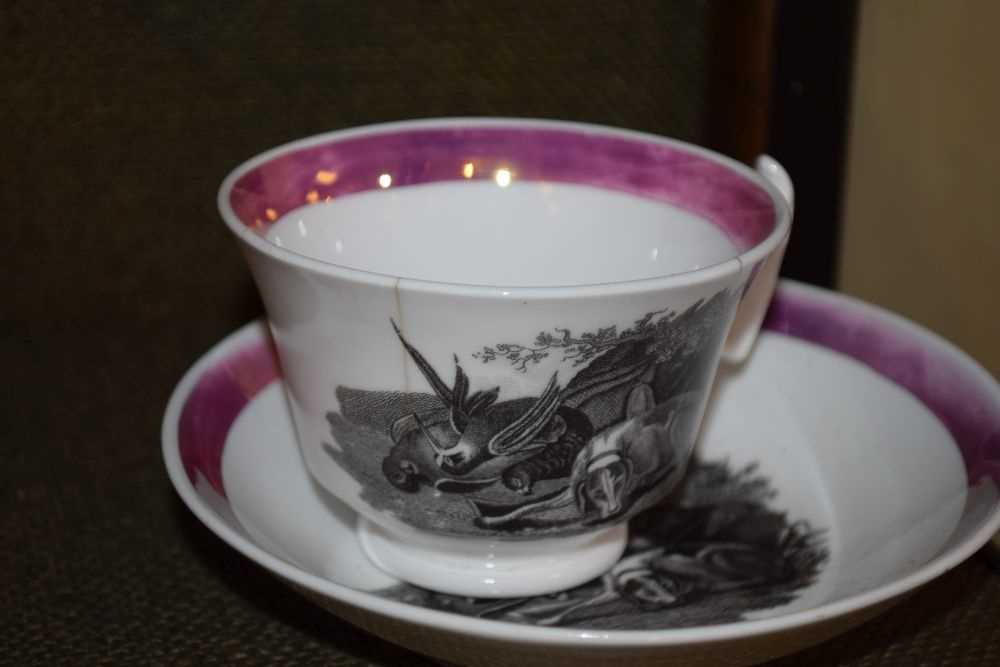 Quantity of late 18th Century / early 19th Century tea ware - Image 2 of 6