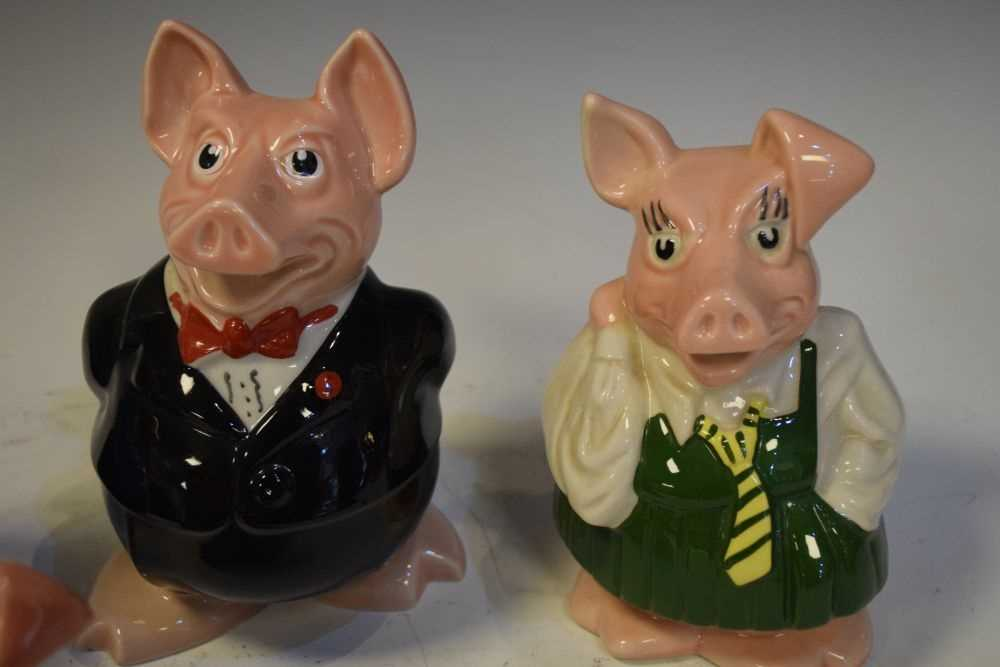 Five NatWest (Wade pottery) pig money boxes - Image 2 of 5