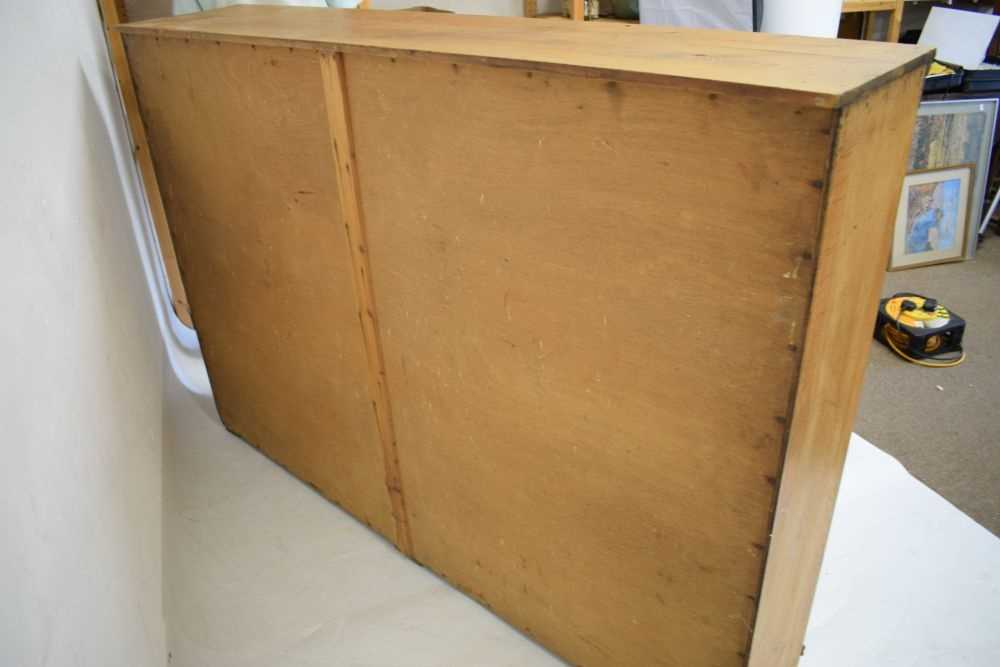Pine shelving unit - Image 3 of 5