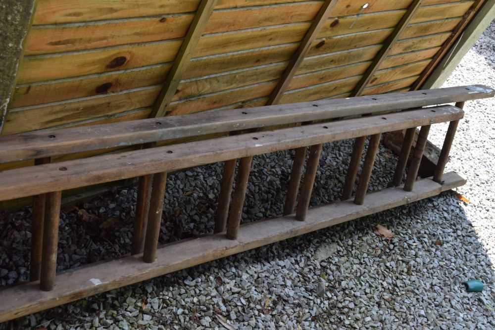 Step ladder and ladder - Image 5 of 5