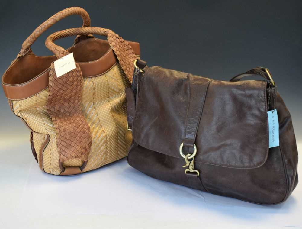 Cole Haan handbag, and an Aquamadonna bag (2)