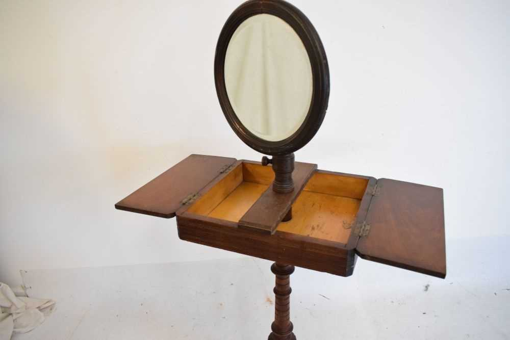 Late Victorian or Edwardian shaving / vanity stand - Image 2 of 3