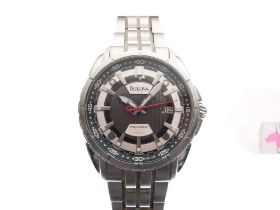 Bulova - Gentleman's stainless steel wristwatch