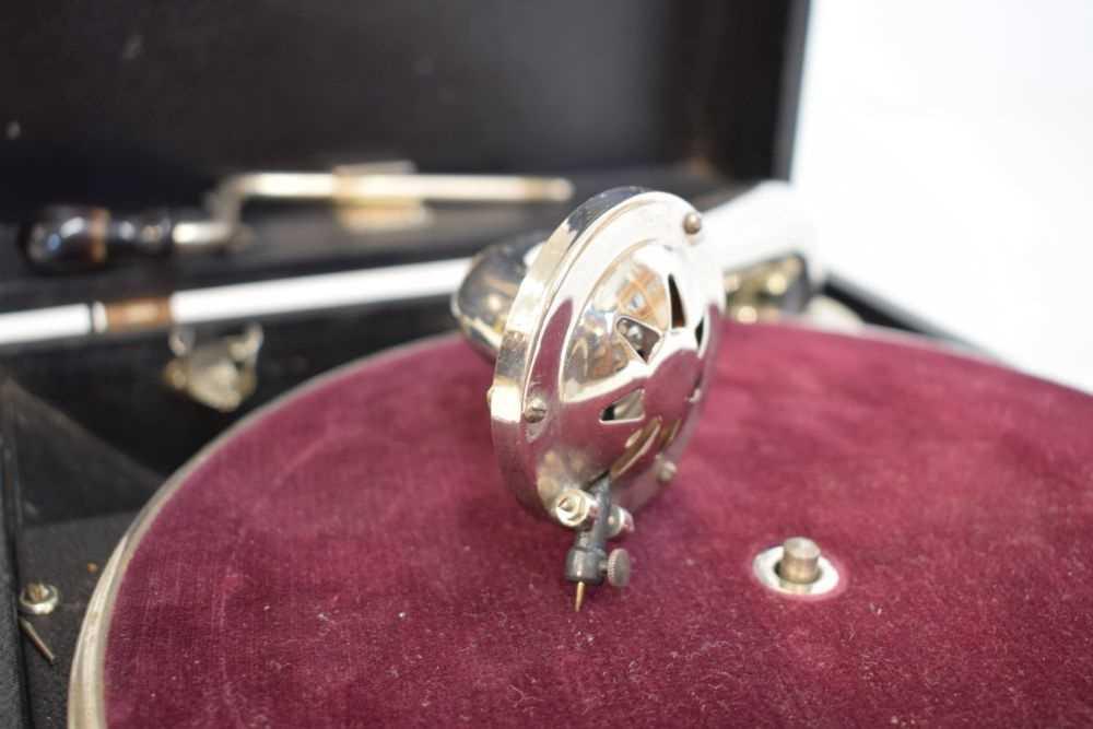 Table-top salon gramophone - Image 2 of 3