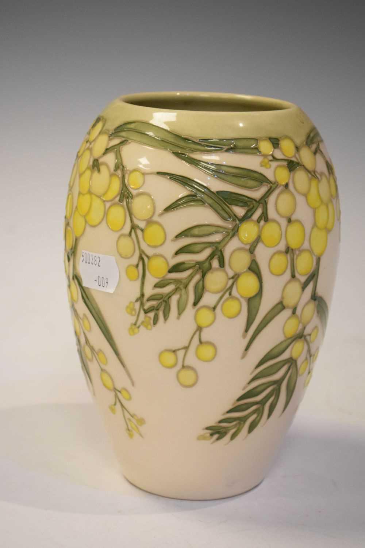 Moorcroft 'Wattle' vase - Image 4 of 6
