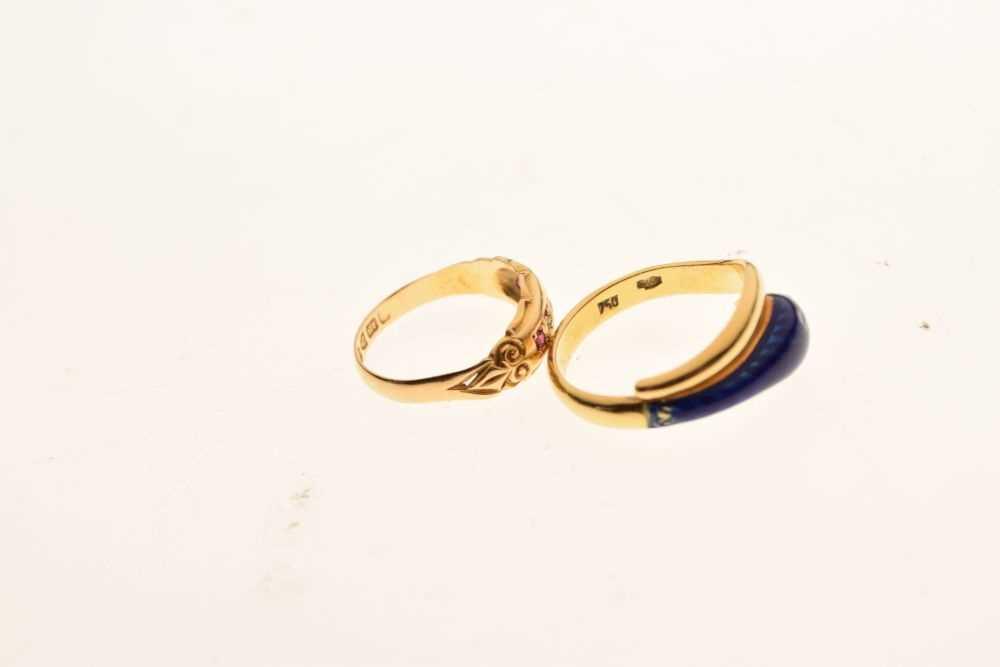 Edward VII 18ct gold ring - Image 5 of 5