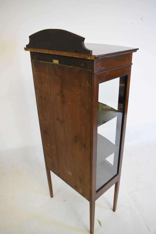 Edwardian mahogany display cabinet - Image 4 of 4