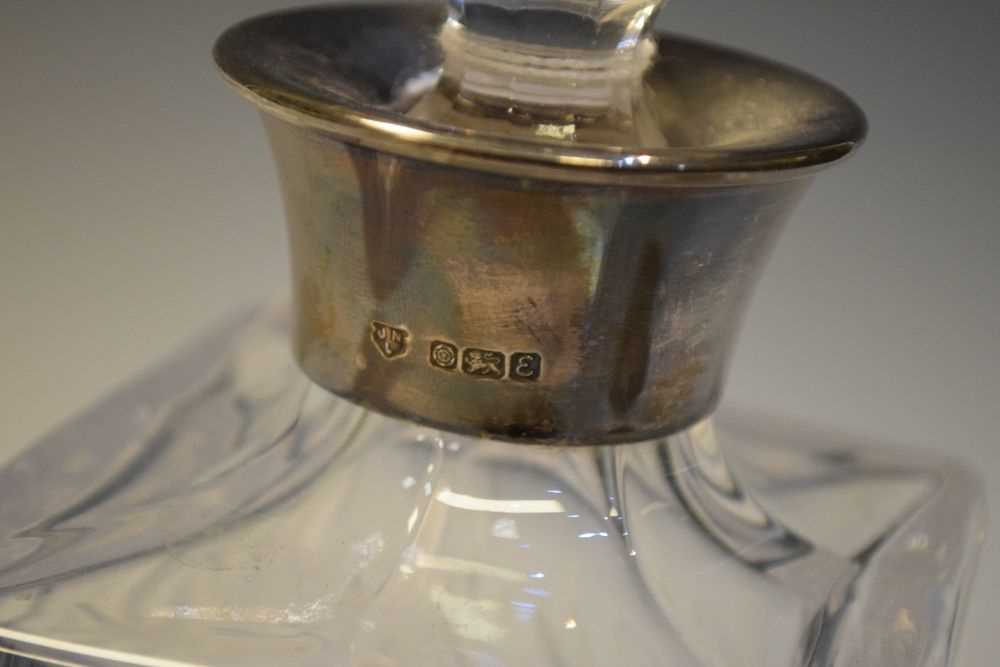 George V silver mustard pot, Birmingham 1927, 140 grams approx together with - Image 5 of 7