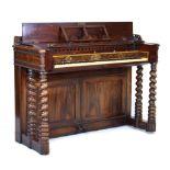 Rosewood square piano
