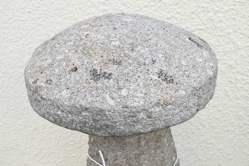 Two staddle stones - Image 3 of 4