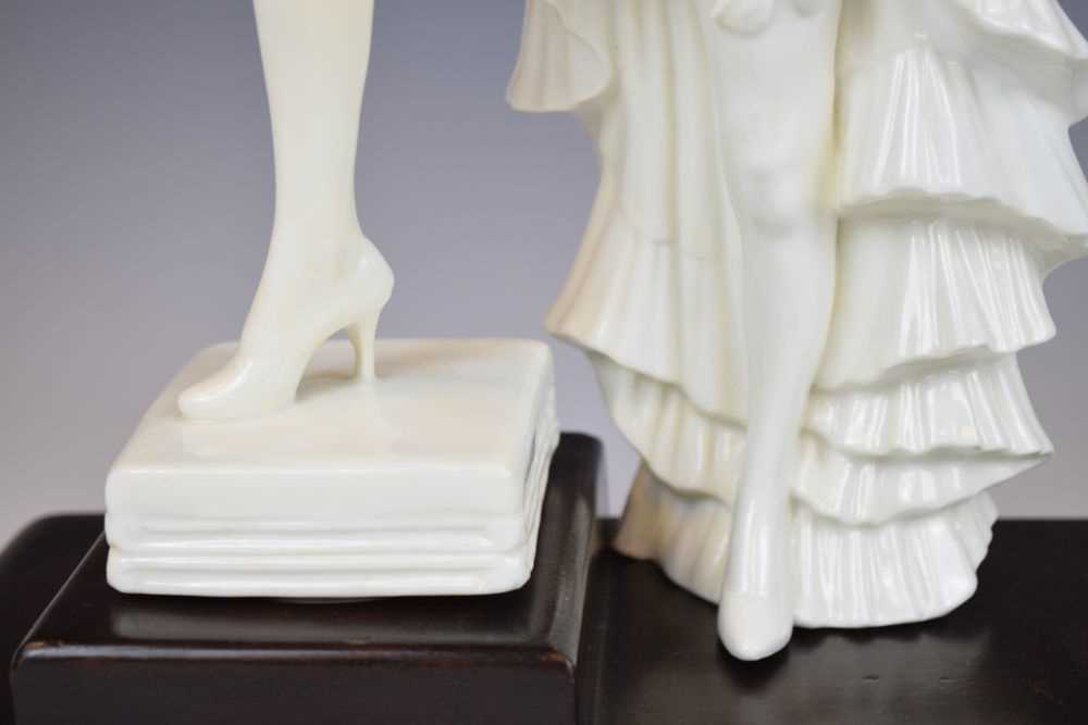 Royal Crown Derby figure of Anny Ahlers - Image 4 of 10