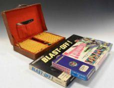 1960s Thunderbirds and Lunar Games and 1940s Mahjong set