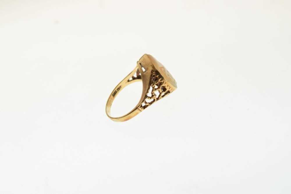 Cameo ring - Image 4 of 5