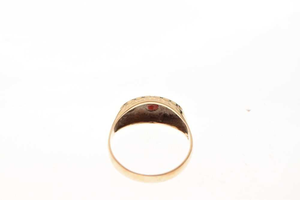 9ct gold ring - Image 4 of 6