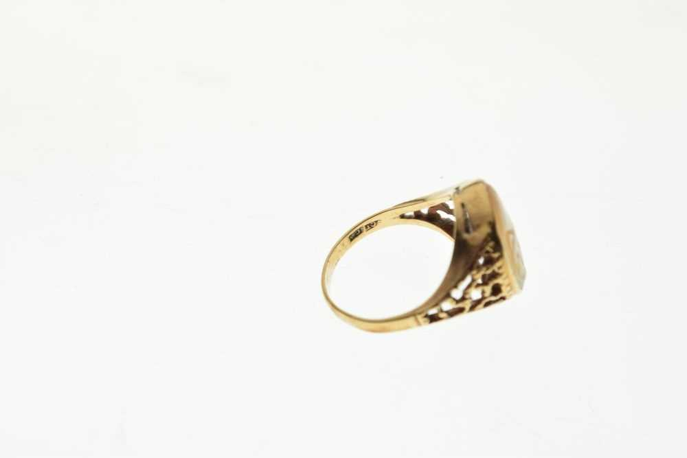 Cameo ring - Image 5 of 5