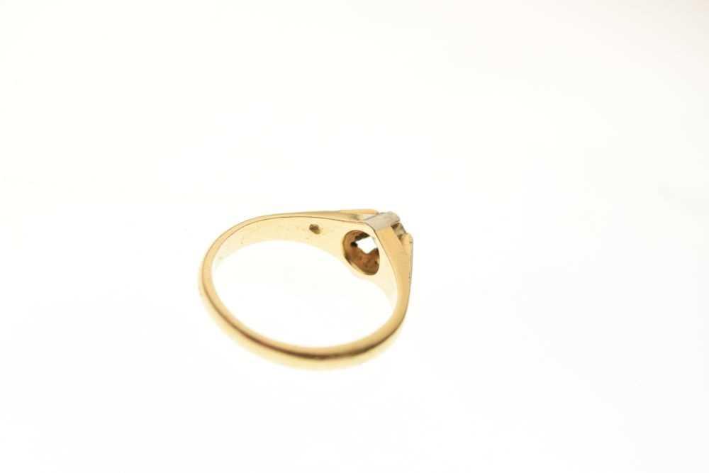 Single stone diamond ring - Image 4 of 5