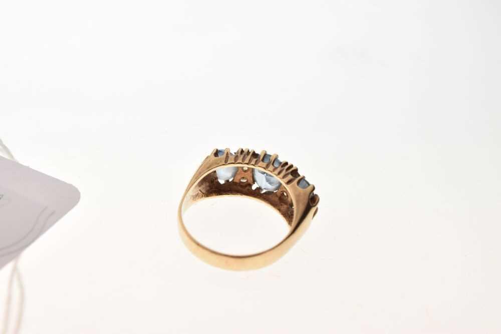9ct gold stone-set ring - Image 4 of 6