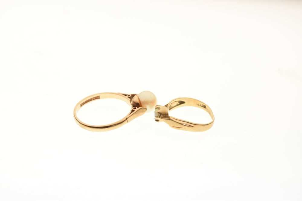 Two 9ct gold rings - Image 4 of 4