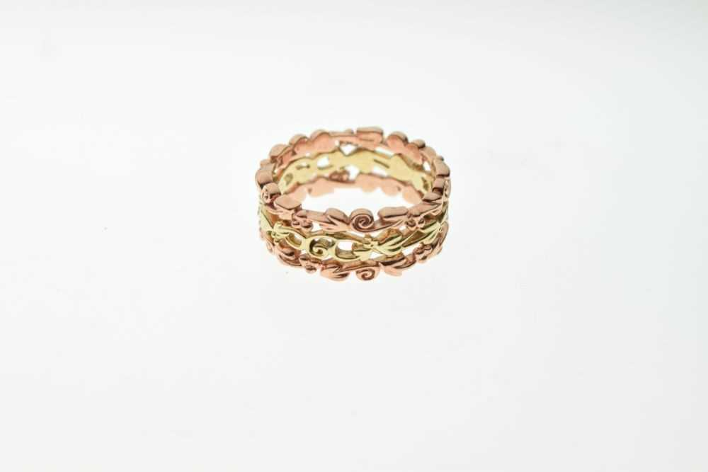 Clogau Welsh 9ct rose and yellow gold 'Tree of Life' ring - Image 2 of 4