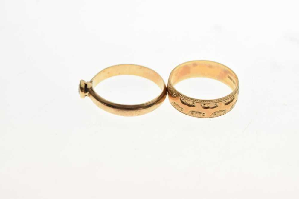 Two rings - Image 3 of 5