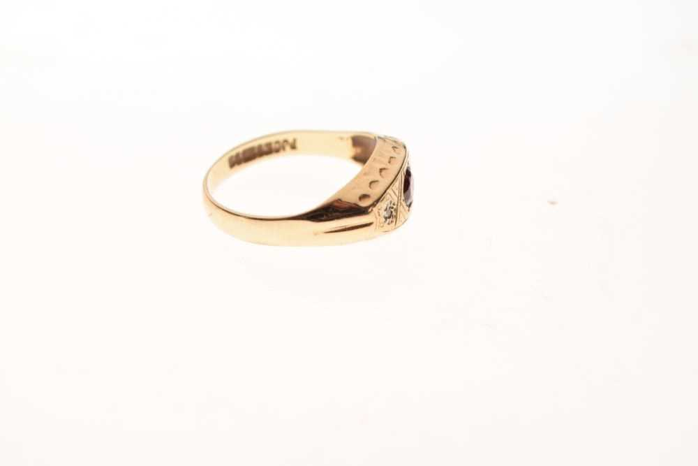 9ct gold ring - Image 5 of 6