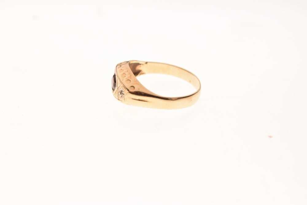 9ct gold ring - Image 3 of 6