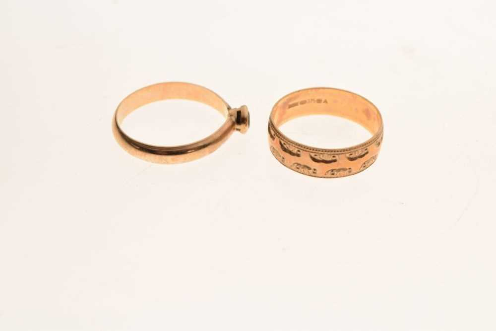 Two rings - Image 5 of 5