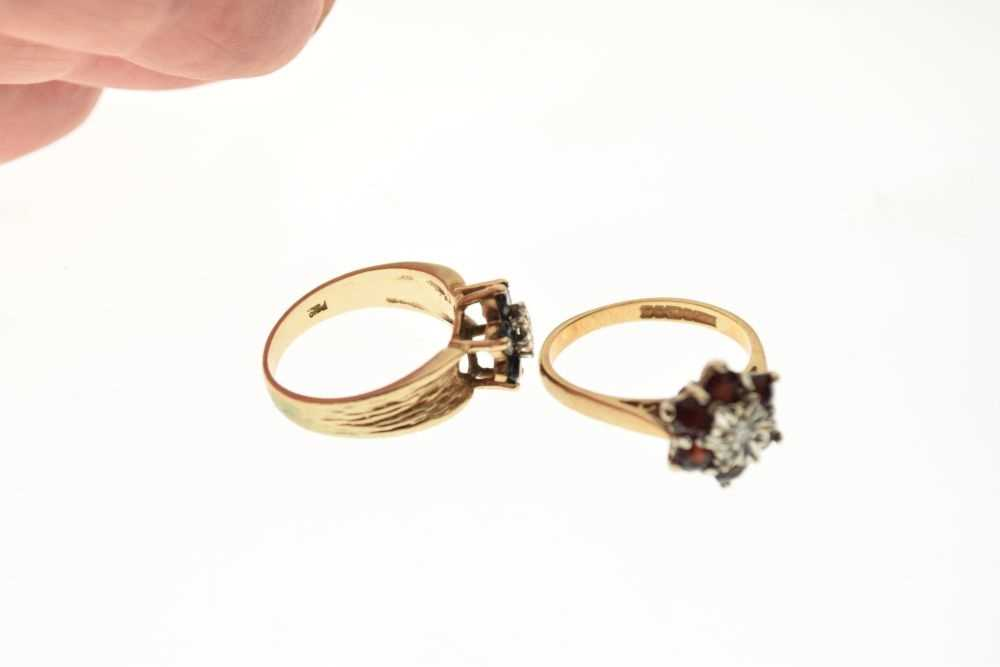 Two 9ct gold dress rings - Image 5 of 5