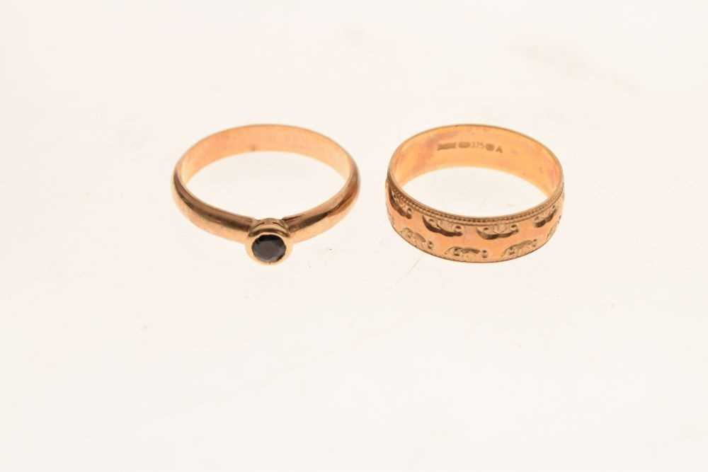 Two rings - Image 2 of 5