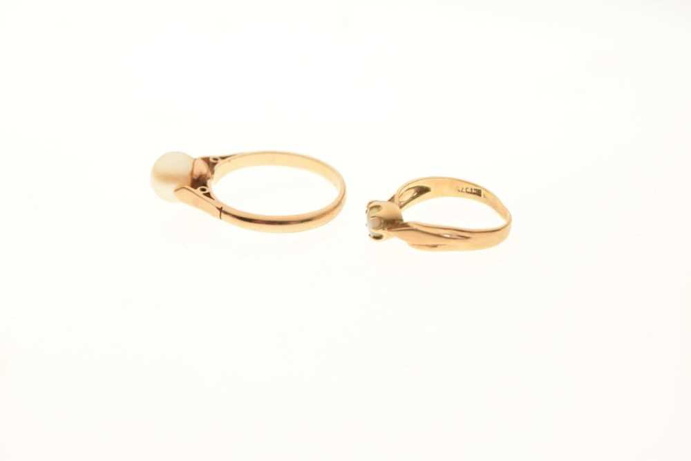 Two 9ct gold rings - Image 3 of 4