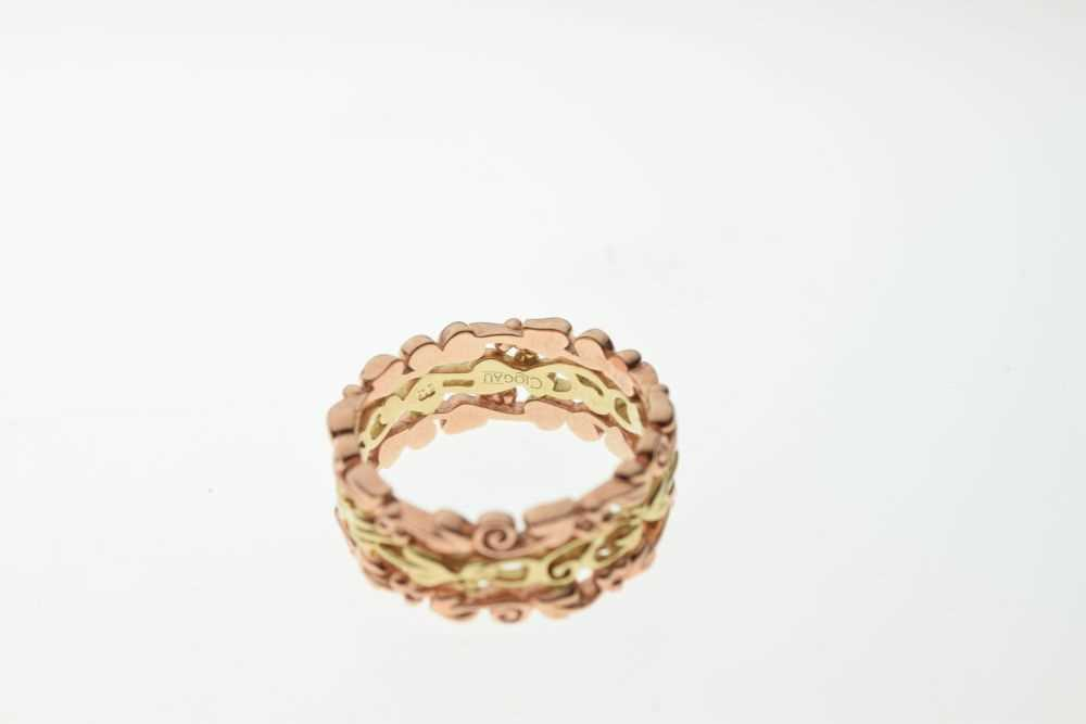 Clogau Welsh 9ct rose and yellow gold 'Tree of Life' ring - Image 3 of 4