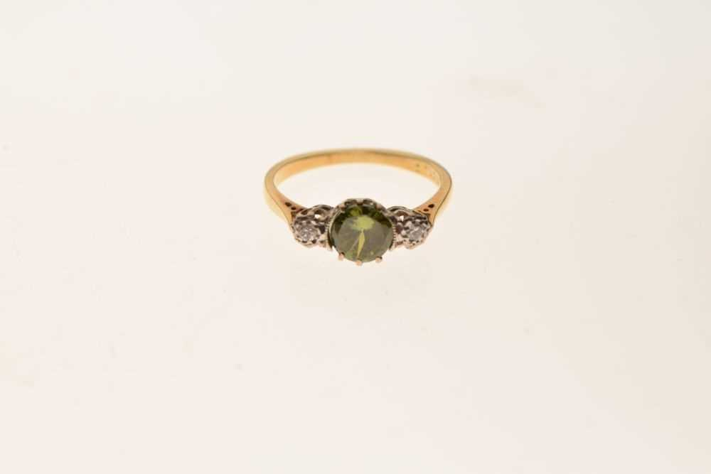 Three stone dress ring - Image 2 of 5