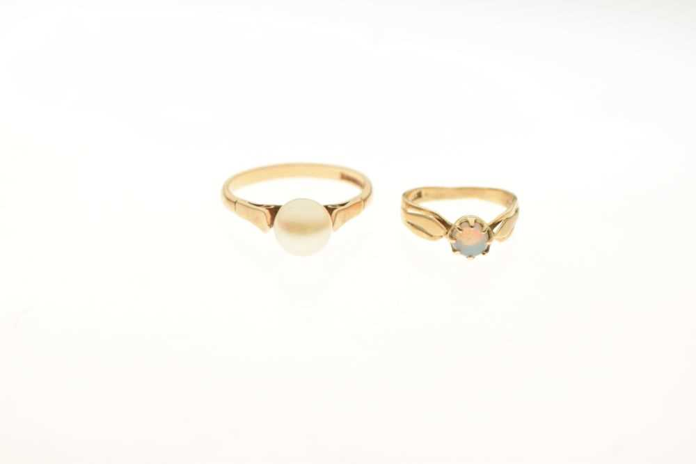 Two 9ct gold rings - Image 2 of 4