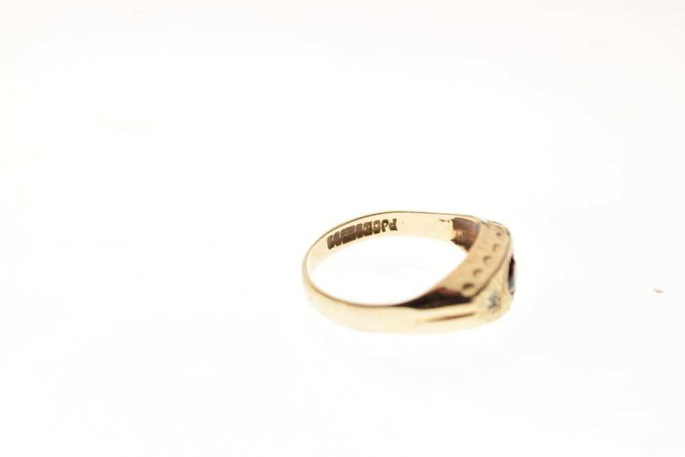 9ct gold ring - Image 6 of 6