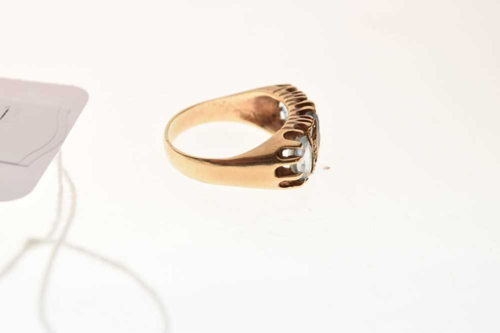 9ct gold stone-set ring - Image 5 of 6