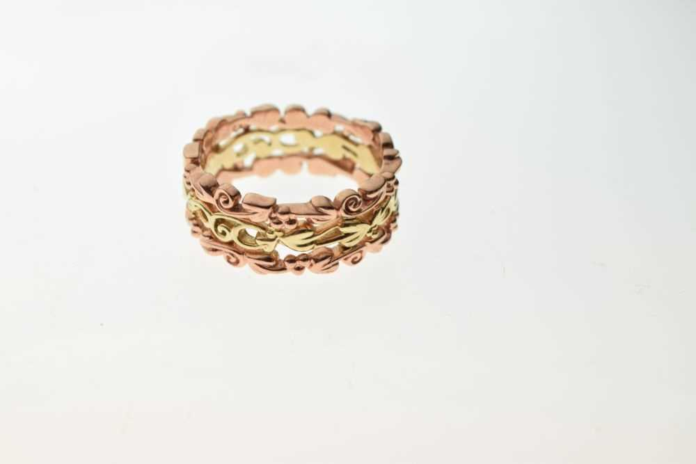 Clogau Welsh 9ct rose and yellow gold 'Tree of Life' ring - Image 4 of 4