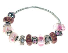 Pandora-style charm bracelet