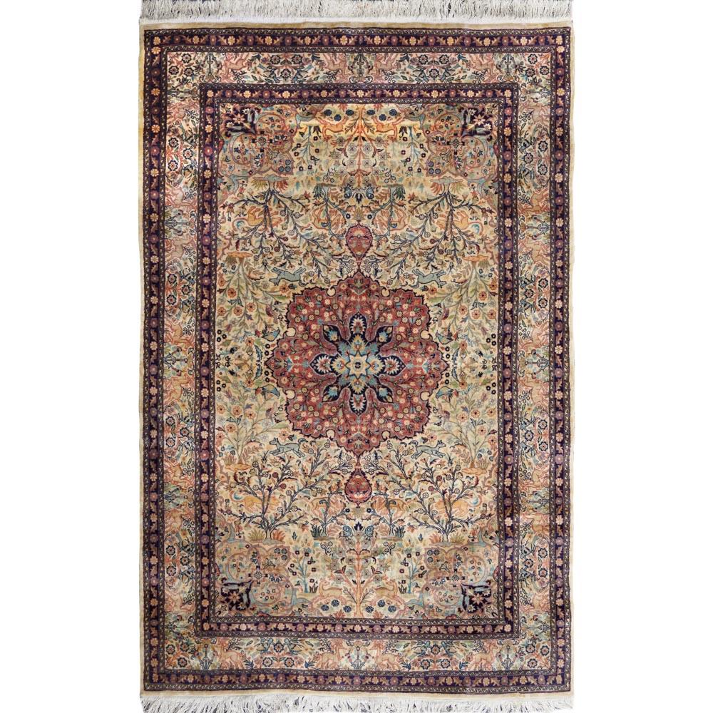 Oriental carpet 20th century 237x154 cm.