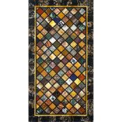 Rectangular marble top Italy, 20th century 3,5x158x84 cm.